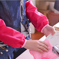 Wholesale New Kitchen Women Cook Cute Waterproof Polyester Material Antifouling Oversleeves Home Cleaning Accessories Pair Quality First