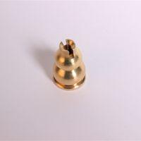 Wholesale Metal Copper Gourd Incense Sticks Burner Holder Small Censer Stand Craft Seat