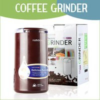 Wholesale Brand top grade electric coffee grinder High quality Stainless steel blades and containers food grain mill grinder FAST Ship