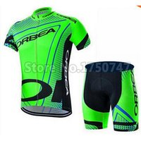 Wholesale 2015 New Mans Mountain Bike Clothing Set Breathable MTB Bicycle Jerseys Ropa Ciclismo With Gel Pad Bike Shorts Pants