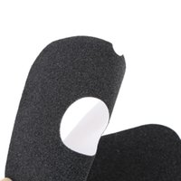 Wholesale 15 x cm Black Waterproof Freeline Skate Sandpaper Grip Tape Board Sticker