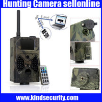 Cheap 940NM scouting hunting camera HC300M New HD 1080P GPRS MMS Digital Infrared Trail Camera GSM 2.0' LCD IR Hunter Cam