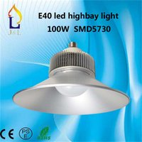 Wholesale 100W E40 Newest LED High Bay Light for Industrial Lighting Factory lighting Working shop lights exhibition Hall Lamp