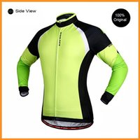 Wholesale WOSAWE Winter Thermal Men s Cycling Jackets Long Sleeve Windproof Bike Bicycle Jersey Ropa Ciclismo Cycling Clothing