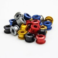 Wholesale Bicycle Parts Bicycle Crank Chainwheel Super Light T6 Alloy CNC Chain Ring Bolt Road MTB Disct Screws gib