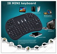 Wholesale Mini i8 Keyboard Touch Fly Air Mouse chargeable battery USB Cable Portable G Rii Mini i8 Wireless Keyboard Mouse Combo Touchpad PC