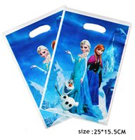 Cheap Free Shipping! Frozen Loot Bags, Birthday Party Decoration Frozen Gift bags, Party Supplies, 20pcs lot
