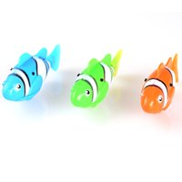 Wholesale JH6602 Nano Fish Lifelike Robotic Fish Electro Powered Water Activated Magical Turbot Fish With Display Box Gift For Kids Childrens Toys