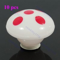 """Cheap Wholesale-S105""""10pcs lot Cute 7 Colors Changing Mushroom LED Night Light Decoration Candle Lamp Night light,Novelty great gift"""