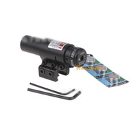 beam scope - Cool Outdoor Hunting Beam Dot Sight Scope Dual Clips Red Laser for Rifle Gun New