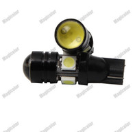 Wholesale 2 X T10 LED Car W LED Auto Lamp V Light bulbs with Projector Lens Interior Packing Car Styling The width light