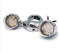 Wholesale Turn Signal Light Indicator Front Motorcycle Amber Lamp Chrome