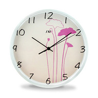 art deco wall clock - Special fashion creative living room mute electronic wall clock clock IKEA bedroom Art Deco restaurant personalized watches