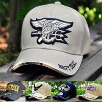 air force seals - New Design Military Fans Baseball Cap NAVY SEAL Tactical Cotton Men Brand Cap Air Force Army Hat Outdoor Snapback Visor Cap