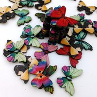 Wholesale The butterfly shape button Environmental protection manual dedicated buttons