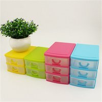 plastic drawer storage box - Candy Macaron Jewelry Box Plastic Storage Box Cosmetic Organizer Drawer Organizer Makeup Storage Cosmetics Plastic Containers