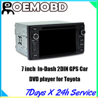toyota car gps navigation - CASKA Universal inch Car DVD player system In Dash DIN GPS navigation free map CA019 KS7 for Toyota universal