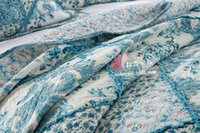 Wholesale Countryside Print Bedspreads Bed Cover Quilt Cotton Summer Warm Handmade Fashion Quilt