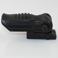 Wholesale Folding Foldable AK pistol Tactical Foregrip Fore Grip mm Picatinny Weaver Rail Mount black