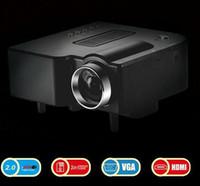 av input usb - Promotion Digital UC28 HD LED Projector UC28 Remote Portable Cinema Theater AV VGA USB SD PC Laptop VGA HDMI Input LCD Projetor