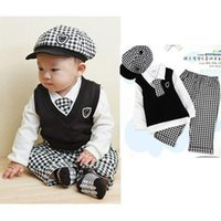 baby boy summer wedding outfit - Boy Baby Full Formal Suit Set Christening Outfit Wedding Kids
