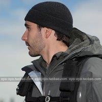 Wholesale TAD Merino Wool tactical hat men and women outdoor warm wool hat black Free