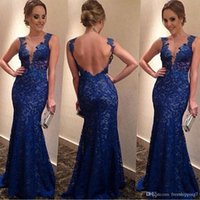 Model Pictures A-Line V-Neck DHL FREE!2015 Hot Selling Fashion Evening party Dresses For Women Lace V Neck Backless Sexy Bride Dresses Long Evening Party Dress