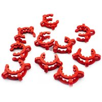 plastic pipe - Smoking Dogo Plastic Keck Clips Joint Clips Pipe Clips Size for Glass Water Pipes and Bongs