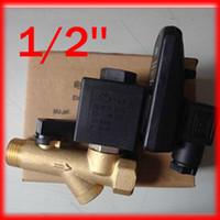 auto drain valves - High Quality Compressor Auto Condensate Drain Digital Timer Valve Solenoid AC220V Bar Pressure