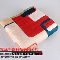 Wholesale 150 cm waterprooof single bed electric heating plush soft blanket cold winnter used electric blanket