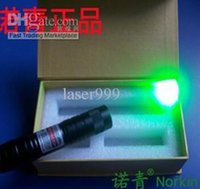 Wholesale New year gift laser pointer LASER POINTER Laser pen Green Laser Pointers LED flashlight can burning matches Boxed TOY mw