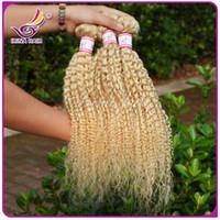 russian hair weave - Russian hair A human hair bundles Brazilian Peruvian Malaysian Indian Virgin kinky curly hair weave hair accessories for women
