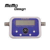 Wholesale SF95 SF06 Digital Satellite Finder Satellite Signal Meter Compass TV Dish FTA LNB Satellite finder localizador for receiver