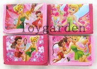 bell purse - TINKER BELL fairy Wallets folding purse zipper bags