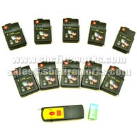 Wholesale New arriving DHL or Fedex cue remote wireless fireworks firing systems