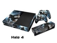 Halo 4 Protector Decal Skin / Stickers Para xbox una Consola + 2 Controllers + Kinect Skin
