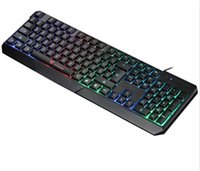 Wholesale teclados gamer gaming usb keyboard wired mechanical lol dota backlight led keyboard for backlight keyboards with retail packaging