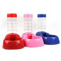 Cheap Pet Dog Cat Automatic Dish Bowl Water Drinking Bottle Fountain Dispenser Feeder