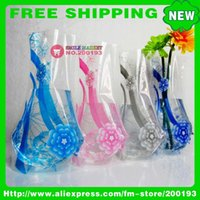 Wholesale ASSORTED COLOR STYLE MORE THAN STYLES B18 PLASTIC FOLDABLE FLOWER VASE PROMOTION GIFT SET