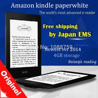 Wholesale e ink ebook Newest Amazon Kindle Paperwhite eBook Reader Ver GB Wi Fi inch Best ebook kindle fast shipping via EMS
