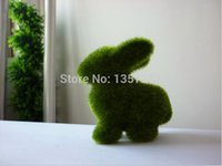 Wholesale 50 House decoration Hot sale animal grass small cute animal design decorations artificial animals grass land