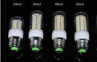 Cheap SMD5730 E27 GU10 B22 E14 G9 LED lamp 220V 110V 360 angle SMD LED Bulb Led Corn light 24LED 36LED 48LED 56LED