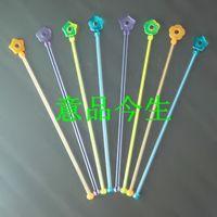 Wholesale Lengthen the flower color of wine stick swizzle stick stirring rod bar supplies long cm pieces order lt no track