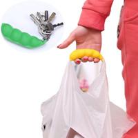 Wholesale Peasecod Shaped Grocery Bag Handle Holder Carrier Lifter Random Color