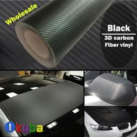 Whole Body carbon black - M Black D Carbon Fiber Vinyl Wrap Air Release For Car Wrapping Film FedEx