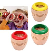 Wholesale Exports Wooden Toys bee eye Effect More Magical Kaleidoscope Explore Interesting Children Toys Colors