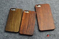 bamboo phone covers - For iphone hard bamboo cases the orginal wood cell phone cover for iphone s plus s plus dhl free