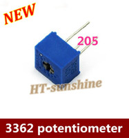 Wholesale High Quality potentiometer M Europe single ring precision adjustable resistor order lt no track