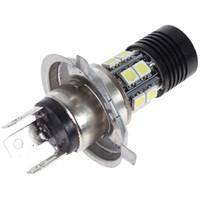 auto xp - 2pcs W H4 Super Bright CREE XP E x SMD LED Car Fog light White Projector Lens Auto Foglight CLT_008