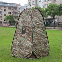 base camp bag - Multi Use Portable Outdoor Changing Clothes Shower Utility Tent Camp Toilet Pop up Room Privacy Shelter with Carry Bag Y1821
